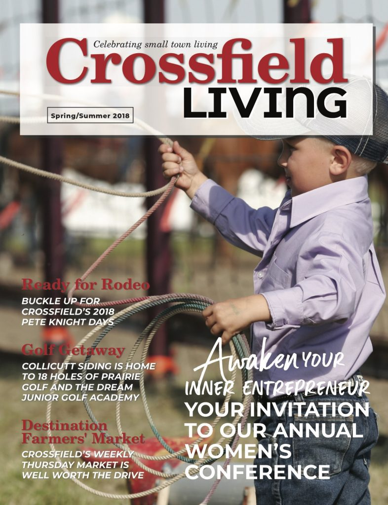 Crossfield Living Spring/Summer 2018 Cover