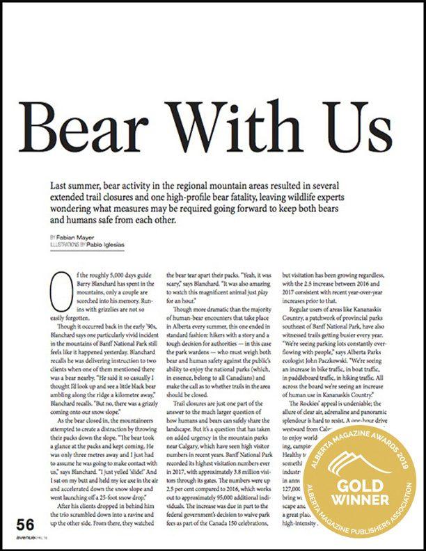 Emerging Writer - Alberta Magazine Publishers Association
